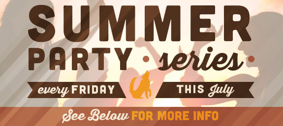 Summer Party Series at Howl at the Moon