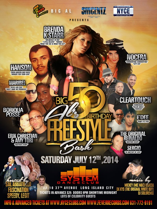 Freestyle Summer Party at System Nightclub