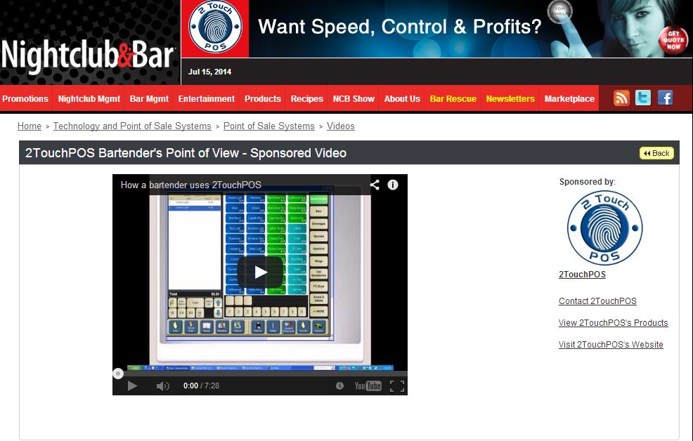 Nightclub & Bar Marketplace Product Video