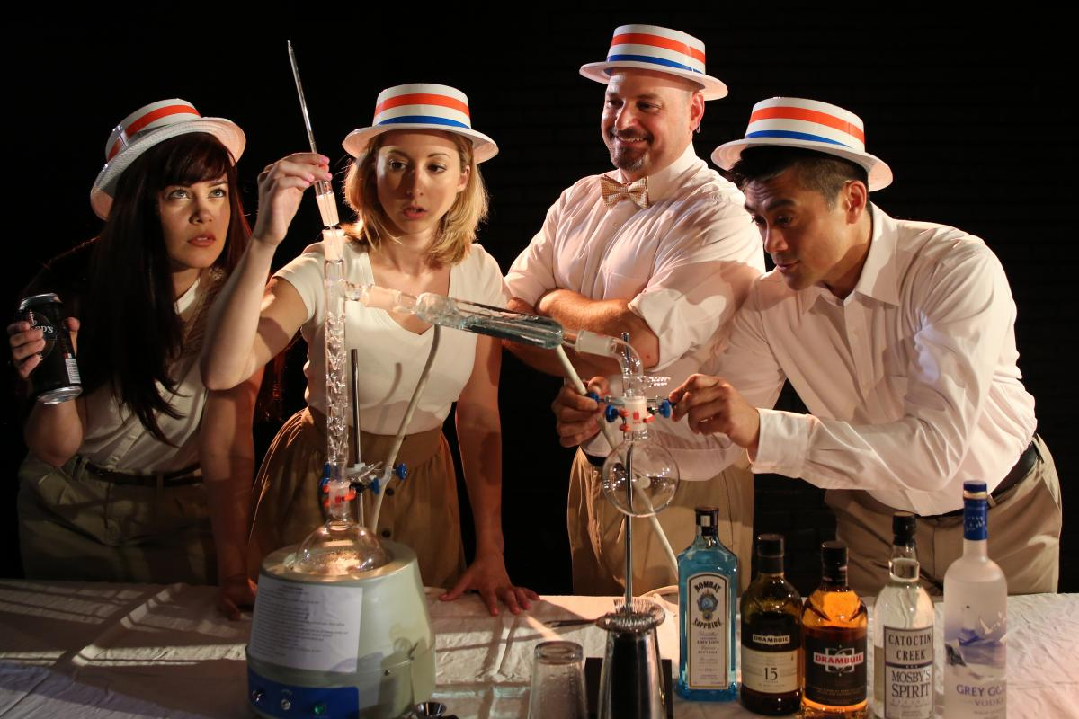The Imbible: A Spirited History of Drinking at the New York International Fringe Festival