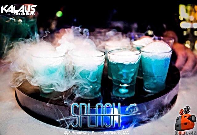 SideKick Shot Glasses at Splash Lounge