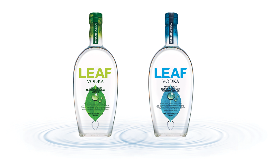 LEAF Vodka TheFiftyBest.com's Best Domestic Vodka Double Gold Winner