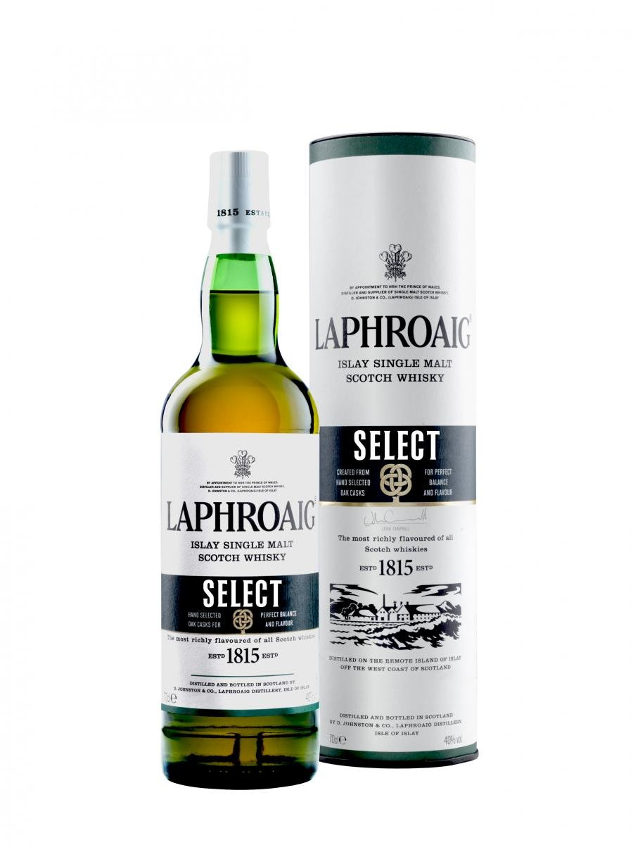 Laphroaig Islay Single Malt Whisky Introduces Select Scotch Whisky