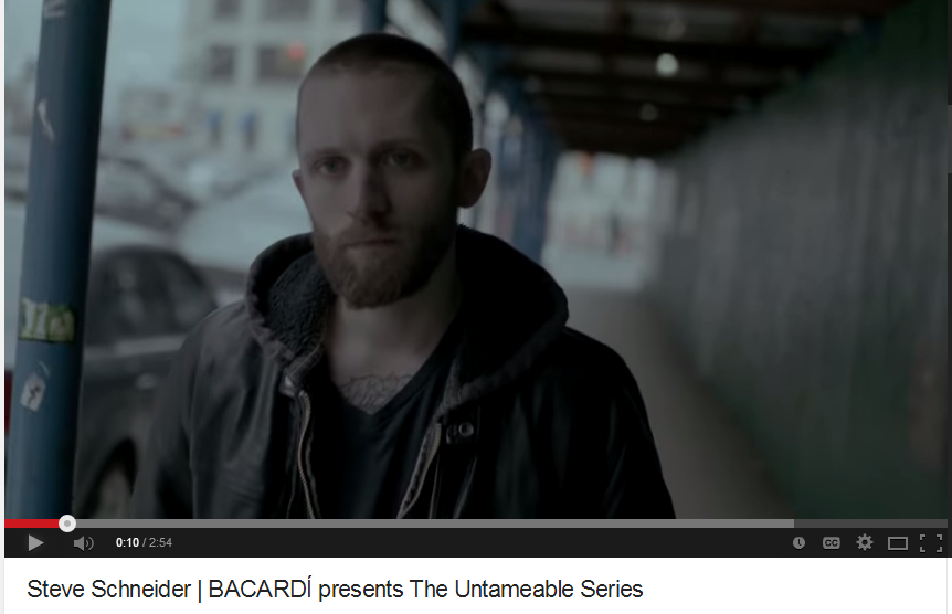 Bacardi Untameable Film Series - Steve Schneider