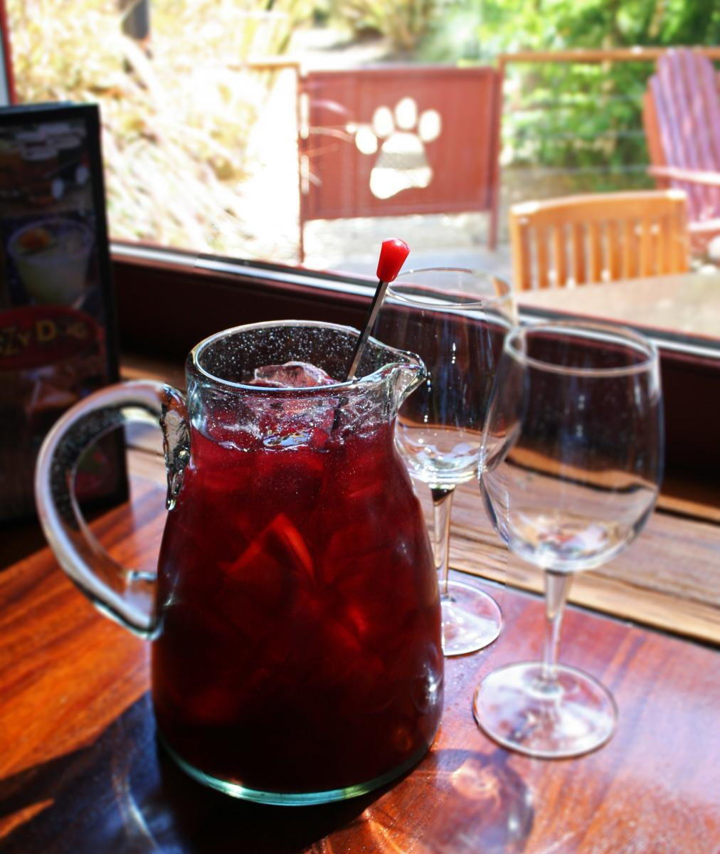 Sangria from Lazy Dog Restaurant in San Diego