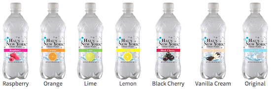 Big Geyser has Launched a new brand of selzers, Hal's Beverage
