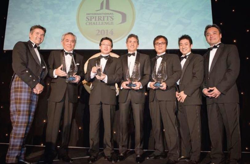 Suntory Liquors Limited Distiller of the Year at International Spirit Awards
