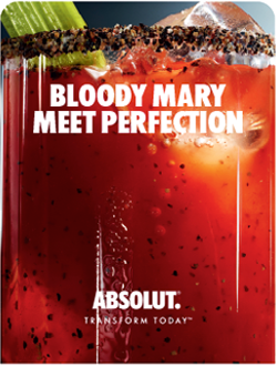 Absolut Vodka Sponsors the Food Network New York City Wine & Food Festival Best Bloody Mary Recipe Contest