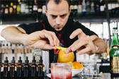 Cocktail Professionals in a European Mood