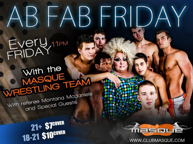 Ab Fab Friday LGBT Promotion