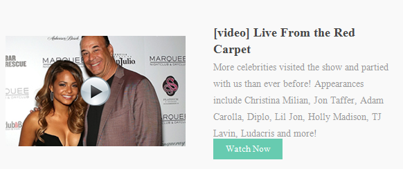 Video: Live from the Nightclub & Bar Red Carpet