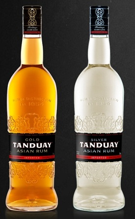 Tanduay Asian Rum Expands Distribution to Retail Outlets in California