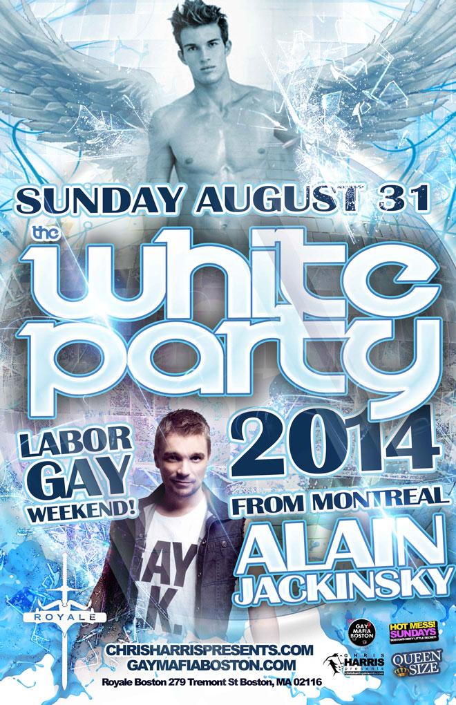 Labor Gay Weekend at Royale Boston