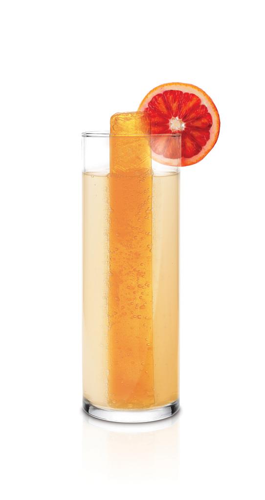 Blood orange slash with skyy vodka
