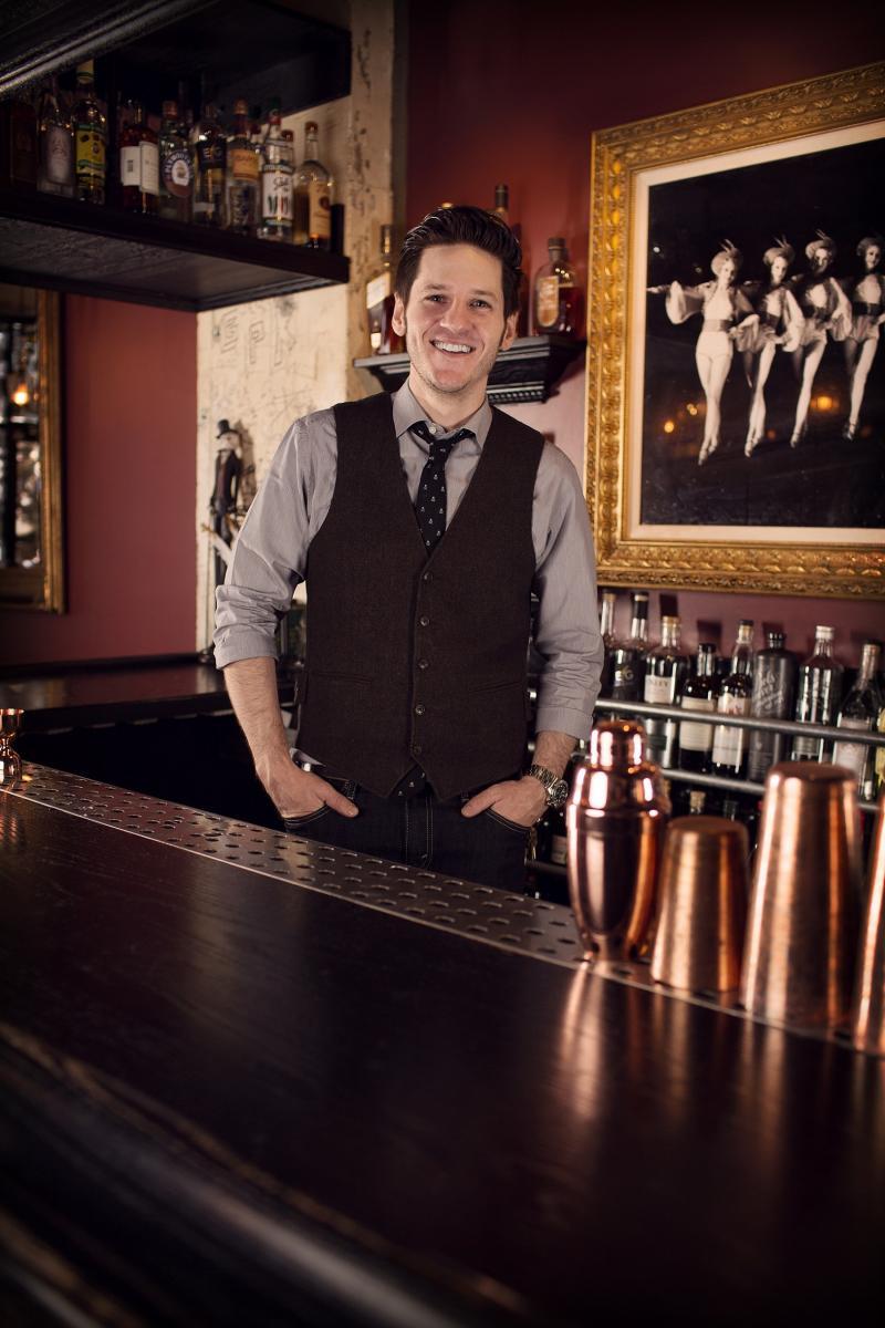 Dan Marohnic - October 2014 Bartender of the Month