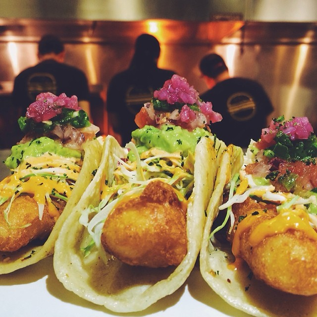 Fish Tacos from Steve O's Restaurant