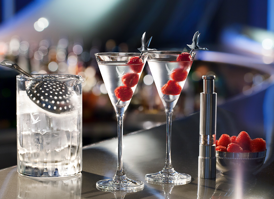 Grey Goose Galactic Martini