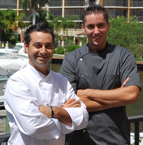 Chefs Deletrain and Voisin pair up to create international taste sensations