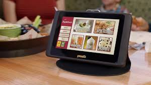 Table Top Ordering at Chain Restaurants