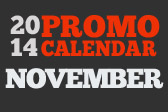 November Promo Calendar 2014
