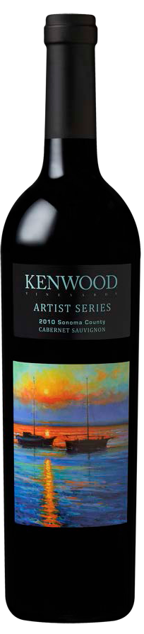 Kenwood Vineyard artist series captures the serenity of sonoma