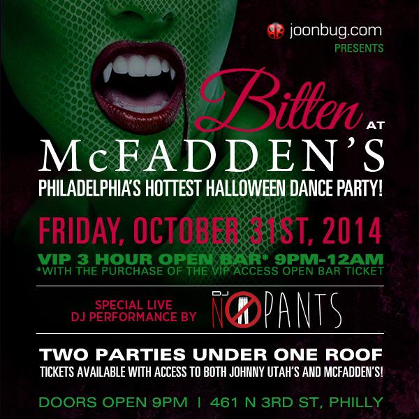 MacFaddens Bitter halloween party