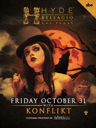 Hyde Bellagio In the Dark Halloween Party