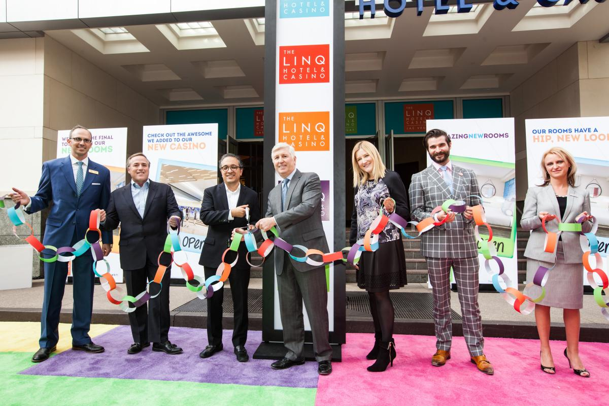 Linq Hotel & Casino Opening