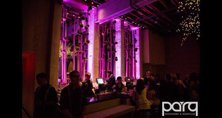 Parq Restaurant and Nightclub in San Diego