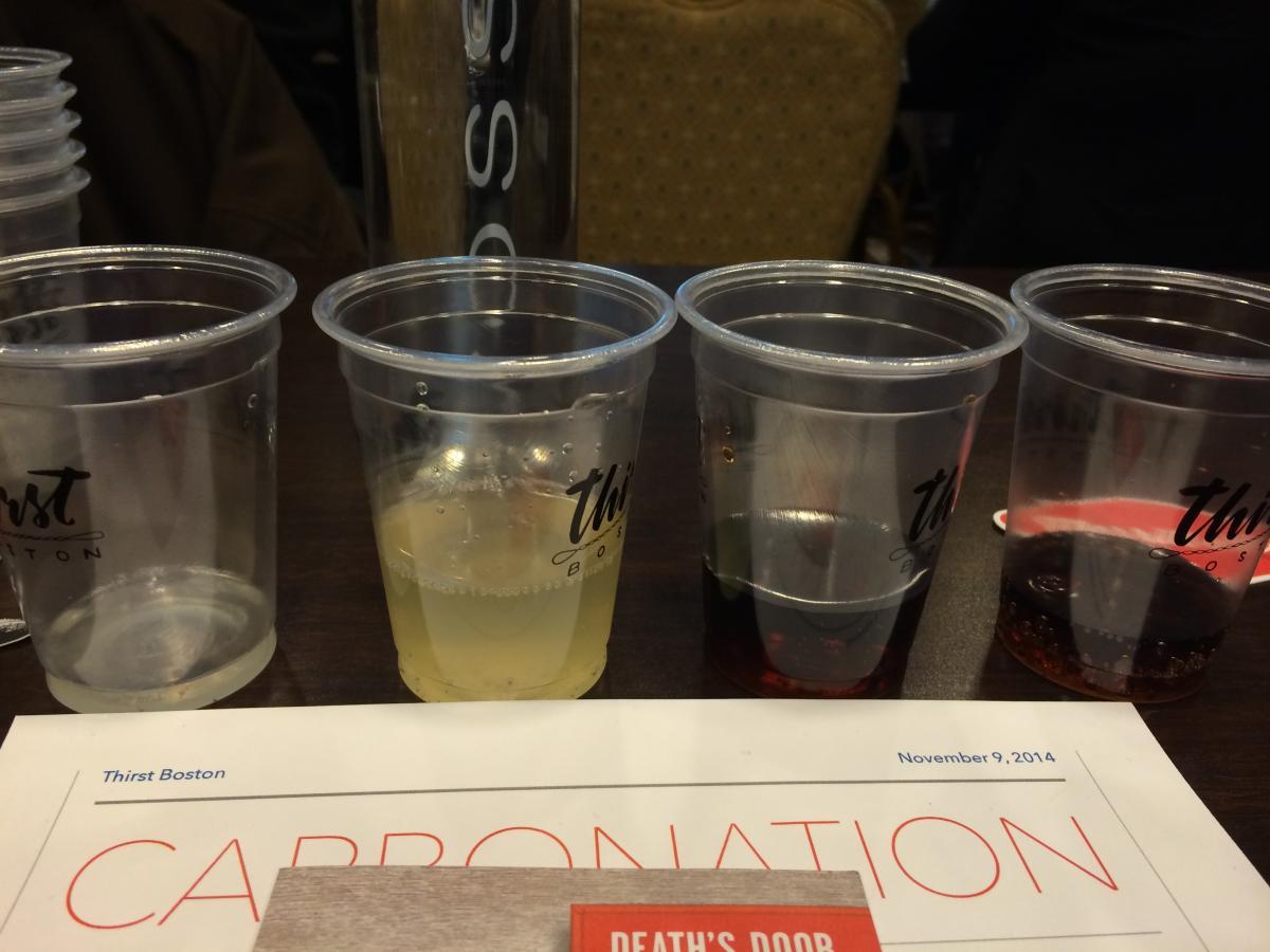 Carbonation Station at Thirst Boston
