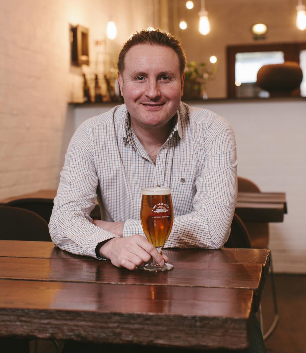 Dougal Sharp - Innis & Gunn Brewers