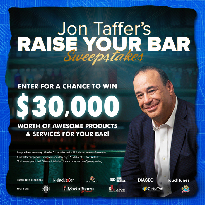 Jon Taffer to Grant $30,000 worth of Products and Services to One Lucky Bar