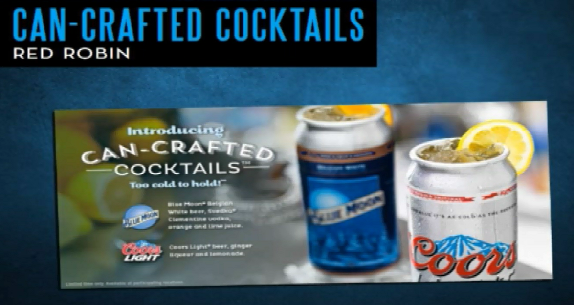 Can-Crafted Cocktail Promotion