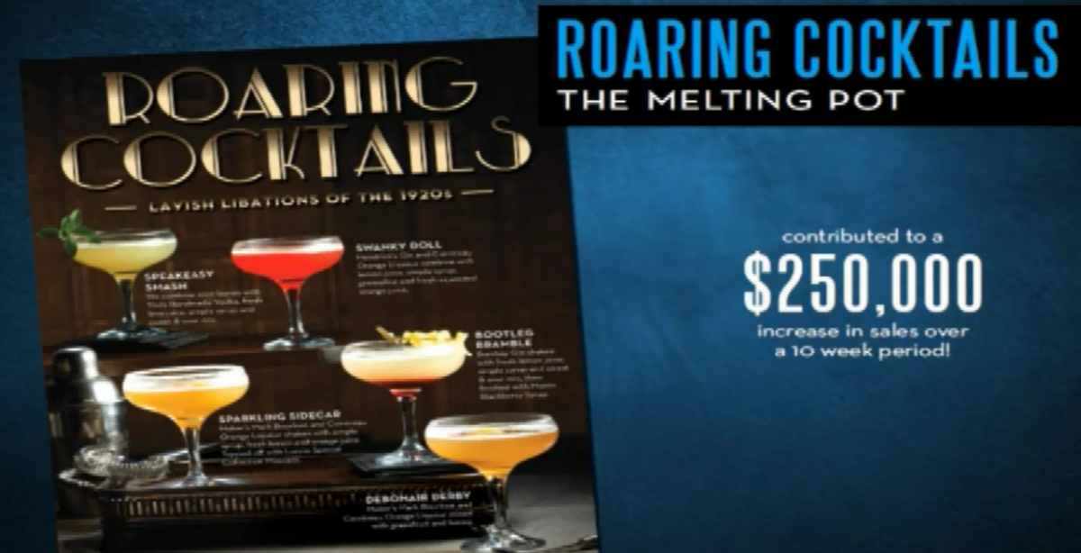 Roaring Cocktail Promotion