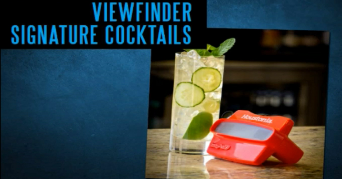 Viewfinder Signature Cocktail Promotion