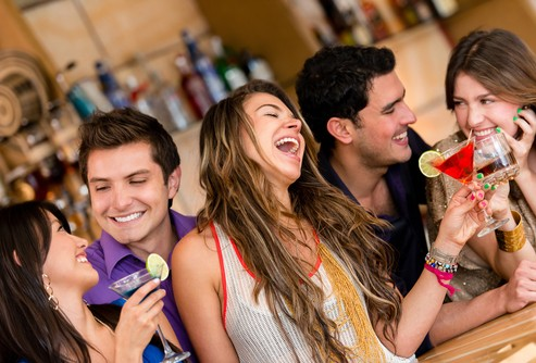 Millennials at a Restaurant