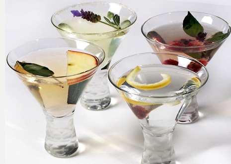 Organic Spirits in cocktails