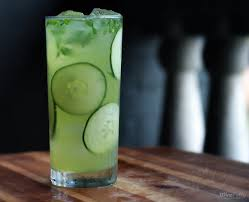 Cucumbers in Cocktails