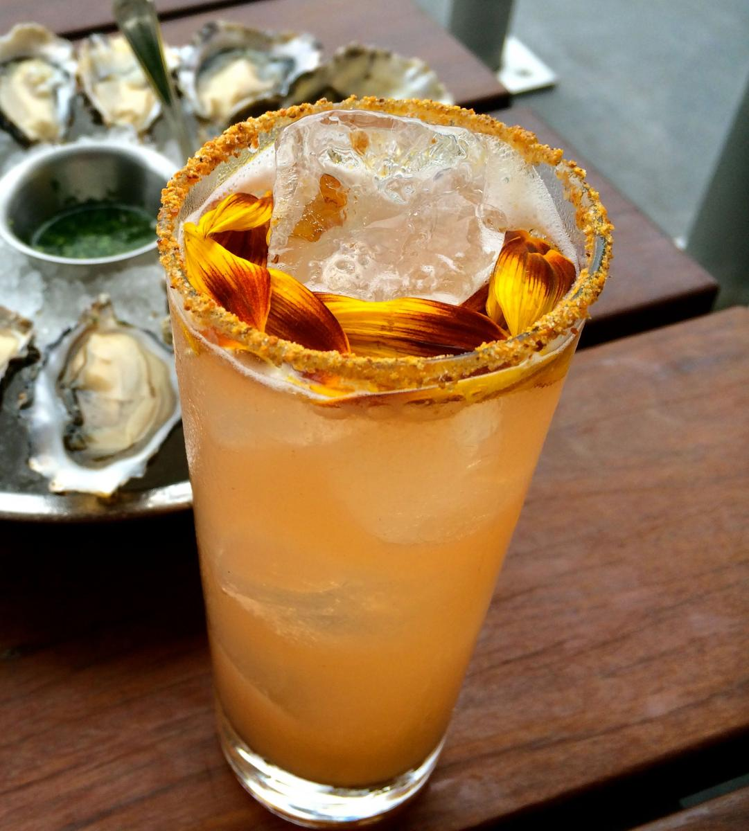 Hog Island The Indian Summer Peach Cocktail