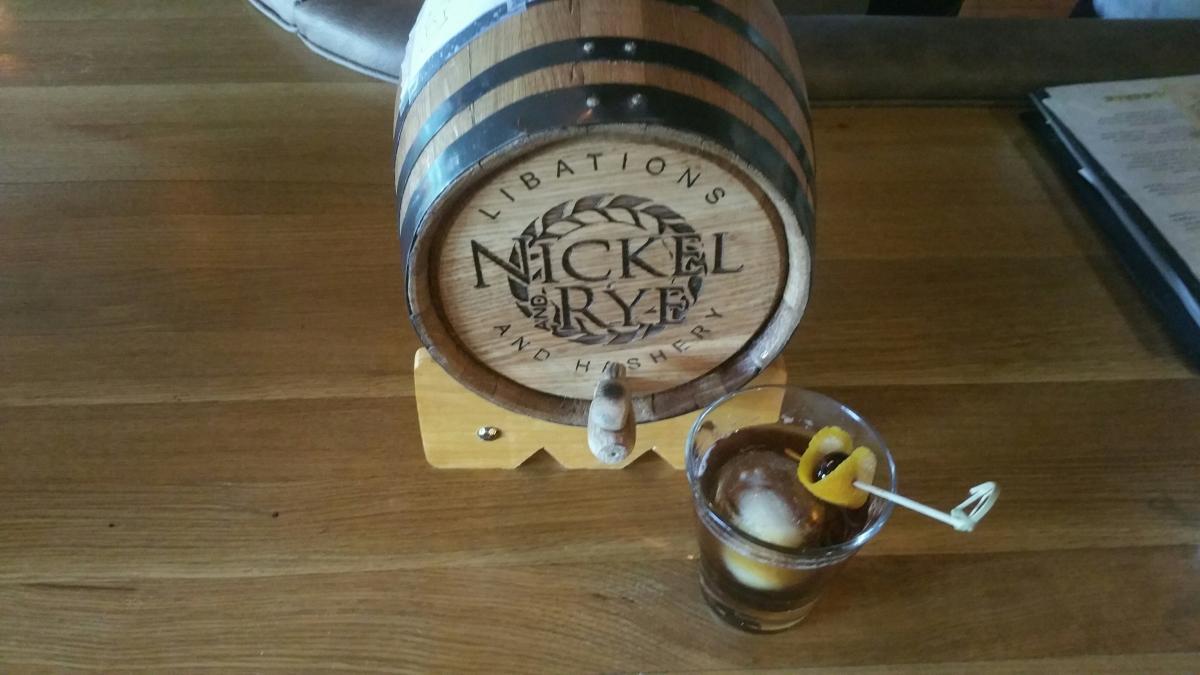 Nickel & Rye Cocktails