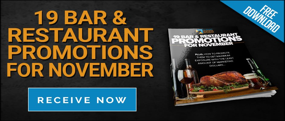 Bar Restaurant Success November Promo Guide Nightclub