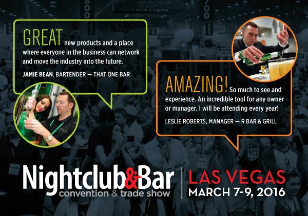 Nightclub & Bar Show Registration
