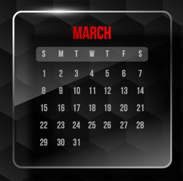 March Promotion & Holiday Calendar