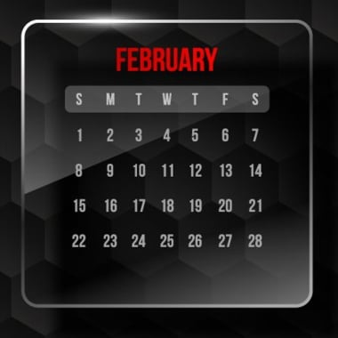 February Promotion & Holiday Calendar