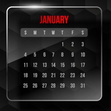 January Promotion and Holiday Calendar