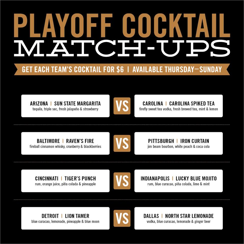 Playoff Cocktails
