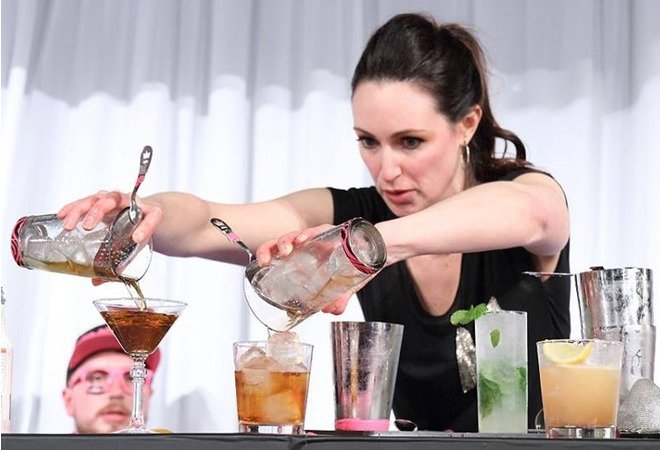 Mia Mastroianni, Cocktail Engineer at Soho House