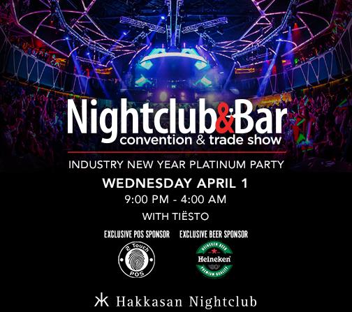 Tiesto at Hakkasan during the Nightclub & Bar Show Platinum Party