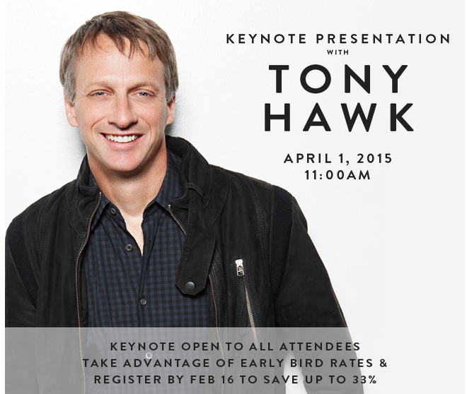 Tony Hawk to Keynote at the Nightclub & Bar Show