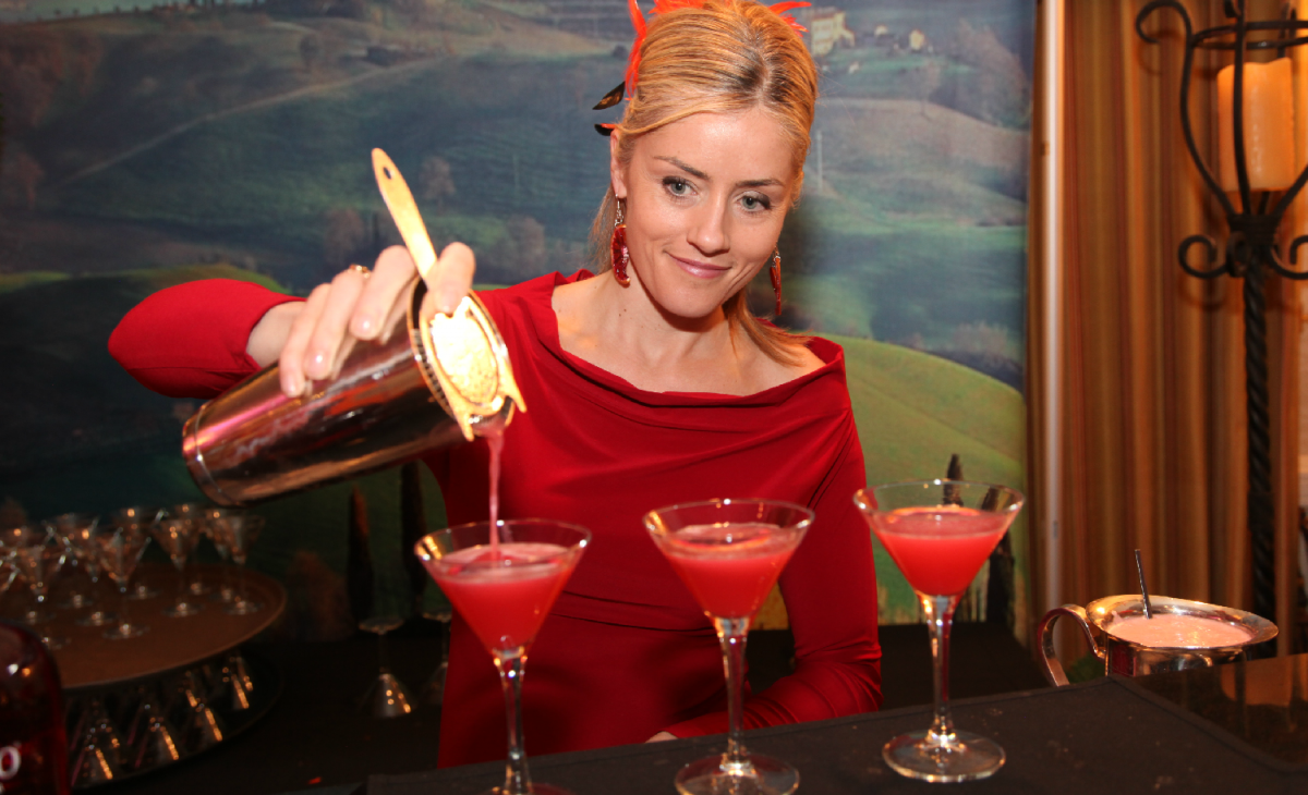 Charlotte Voisey at VIBE Conference Cocktail Party